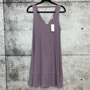 Splendid // V-Neck Ribbed Tank Dress